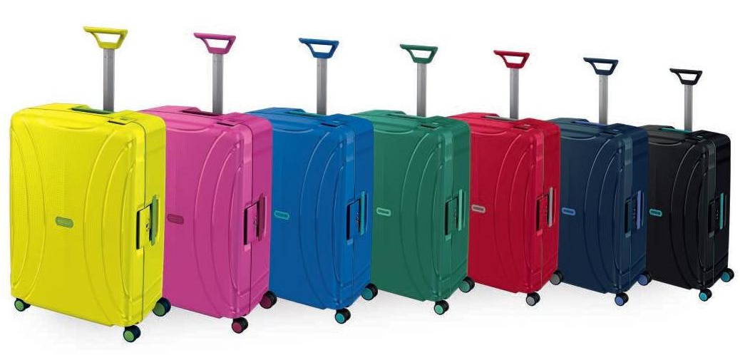 10 koffers van lock n roll collectie america tourister