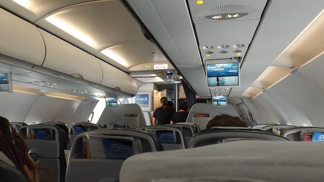 vliegtuigcabine