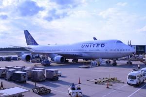 Vliegtuig van United Airlines